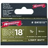 Arrow BN1810 Genuine 5/8-Inch Brown Brad Nails, 500-pack