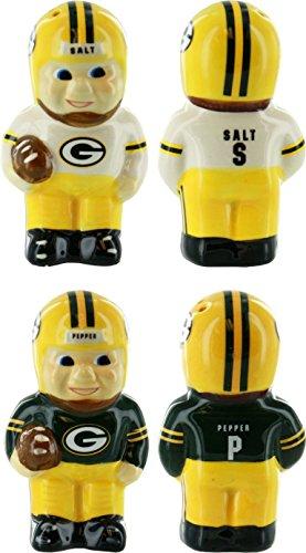 Green Bay Packers Vintage Salt & Pepper Shakers