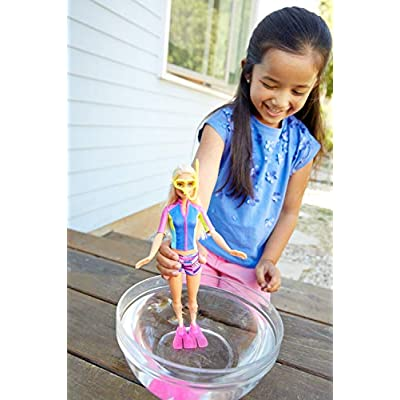Barbie Dolphin Magic Snorkel Fun Friends: Toys & Games