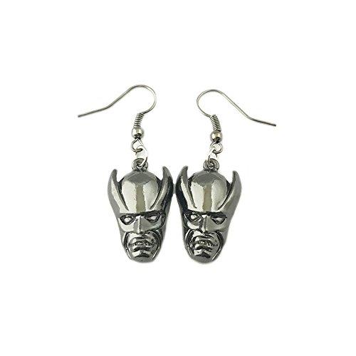 Batman Comics Retro Mask Dangle Earrings w/Gift Box by Superheroes