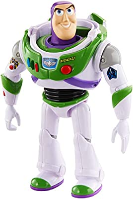 Disney Pixar Toy Story True Talkers Buzz Lightyear Figure, 7""