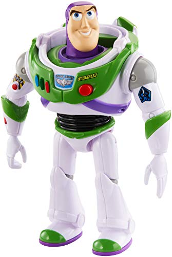 Disney Pixar Toy Story True Talkers Buzz Lightyear Figure, 7″