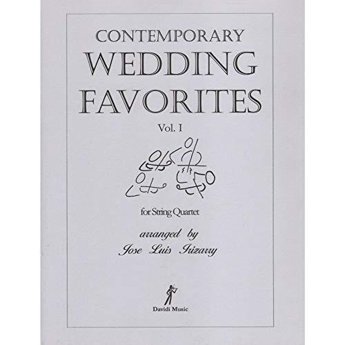 Contemporary Wedding Favorites Volume 1 for String Quartet - Arranged by Juizany - Davidi Music ()