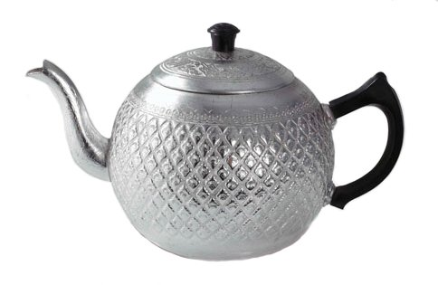large aluminum teapot - 5