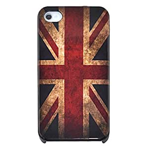 LCJ Vintage the Union Flag Pattern Hard Case for iPhone 4/4S