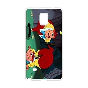 Samsung Galaxy S4 Phone Case White Alice in Wonderland Tweedledum and Tweedledee KMI6159870