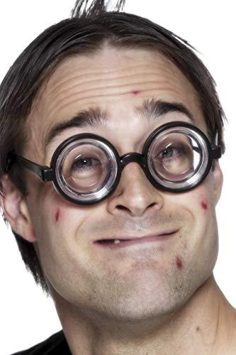 Smiffys Unisex Nerd Glasses (One Size) (Black) -