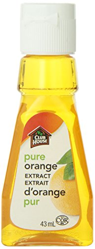 Club House, Quality Baking & Flavouring Extracts, Pure Orange, 43ml