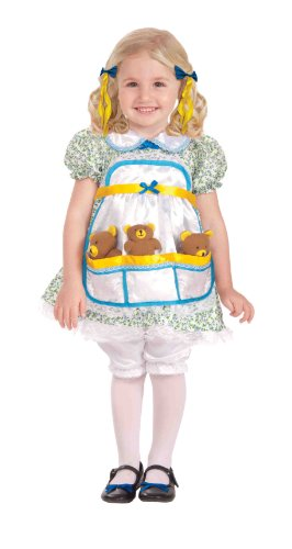 Forum Novelties Goldilocks Complete Costume, Toddler Size