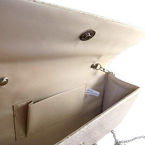 beige Pochette De 'Kika' 25 Les cm Lily 5x13x6 Trésors P1847 TxYnnwI4q