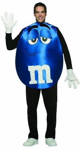 Rasta Imposta M&M's Poncho, Blue, Standard