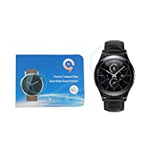 HD Clear Hardness Anti-Scratch Tempered Glass Screen Protector Film For Samsung Gear S2 Classic