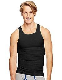 Classics Men's Tagless ComfortSoft Dyed A-Shirt 4-Pack
