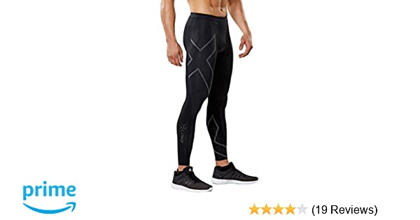 0535bef8fefb1 Amazon.com : 2XU Men's MCS Run Compression Tights, Black/Nero, Small :  Clothing