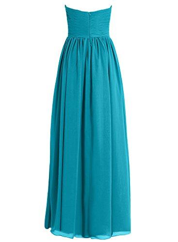Dresses Chiffon Dress Bridesmaid Prom Formal Black Long Evening Cdress Gowns Women's Sweetheart yq1tFSyIf
