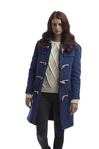 Bascule Femme Original Montgomery Bois en Coat Duffle Bleu Royal PqHA1IB