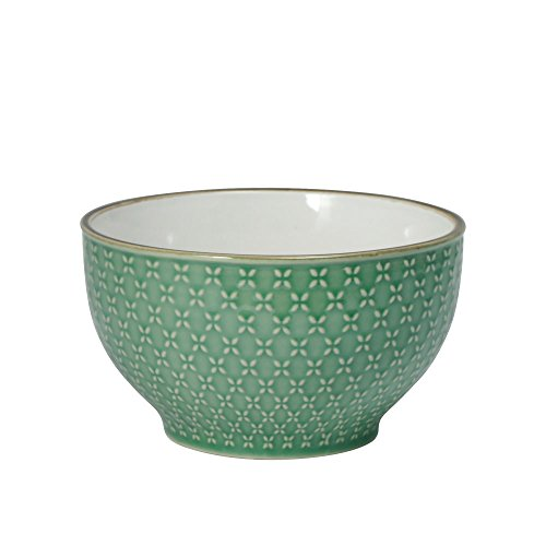 Pfaltzgraff French Lace Green Soup Cereal Bowl -