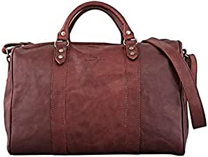 Kaizer KZ1531AT Cavalry Overnight Leather Bag