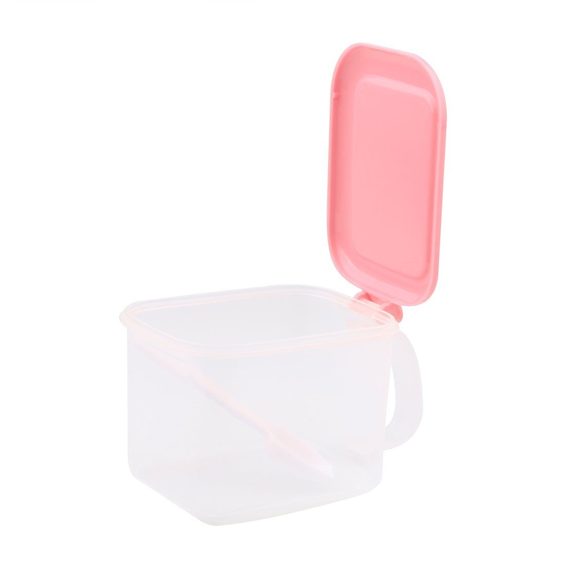 Amazon.com | eDealMax plástico Domésticos de Cocina rectangular solo compartimiento sal condimento caja de color rosa: Condiment Pots