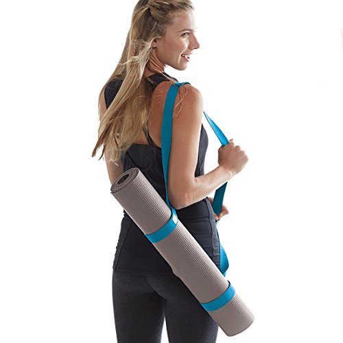 Bearine Yoga Mat Strap,yoga mat straps for Sling carrying ,Adjustable Yoga Strap for All Size Yoga Mats and Excecise Mats. (Deep purple)