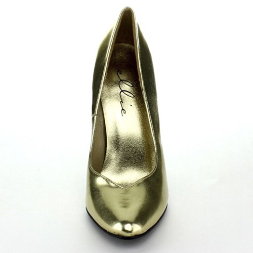 Shoes Gold Women's Dress Pump Ellie 8220 dXA8wY8x