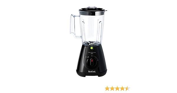 Tefal BL3008 Batidora de vaso Negro 1.5L 450W - Licuadora (De ...