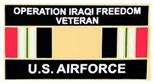 U.S. Air Force Operation Iraqi Freedom Veteran Small Pin - Iraqi Freedom Veteran Hat Pins