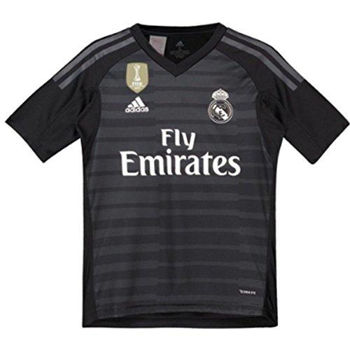 Jersey Goalkeeping Graphic (adidas 2018-2019 Real Madrid Home Goalkeeper Shirt (Kids))