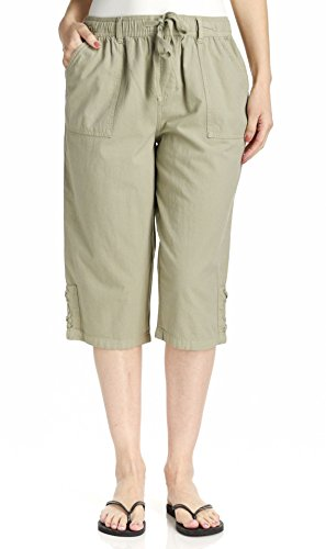 Erika Women's Lillith Lace Up Gds Capri, French Pear, (French Capris)