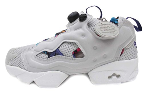 Reebok Mens Instapump Fury Ar Grey Running, Cross Training Shoes Taglia 11.5 Nuovo