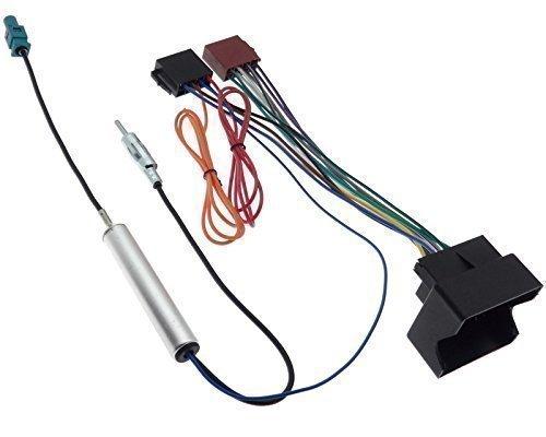 OPEL Radio ISO Stecker Adapter Quadlock Fakra DIN Antenne ...