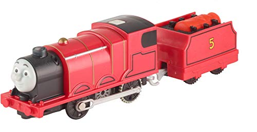 Fisher-Price Thomas & Friends TrackMaster, Real Steam James [Amazon Exclusive] -