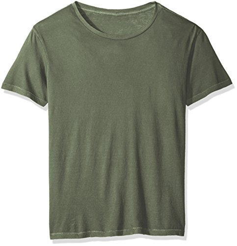 Alternative Men's Cotton Jersey Heritage Tee, Green Pigment, L