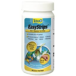 Tetra 19543 EasyStrips 6-in-1 Test Strips, 100-Count