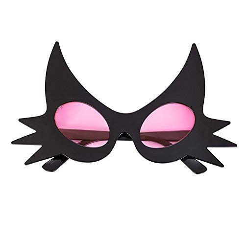 Color exagerado Pink Funny la Divertido de Búho Accesorios Lentes de de Divertidas de nbsp;onality Halloween Sol Vestido Gafas Rotyr Rosa del Gafas Fiesta de Baile Foto nbsp;Creativo wFIqSF