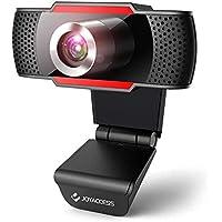 1080P HD webbkamera med mikrofon, streaming webbkamera för PC, USB-webbkamera för PC, videosamtal, konferens, studier…