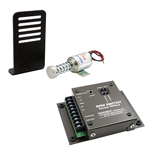 AutoMeter Auto Meter SS2RPM Dedenbear Solenoid Shifter, 2 Spd. With Rpm2 (Rpm Activated Switch)