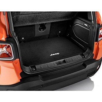 Mopar 82214322 Carpeted Cargo Area Mat Jeep Renegade Black Carpeted Cargo Area Mat
