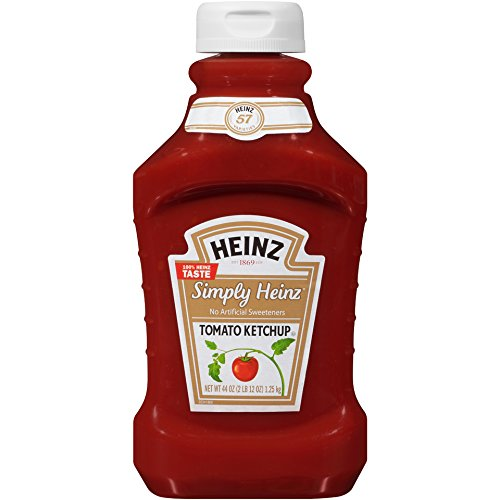 (Heinz Simply Tomato Ketchup (44 oz Bottle, Pack of 6))