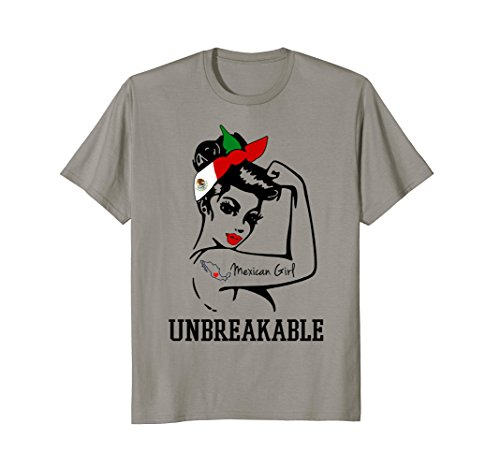 Mexican Girl - Unbreakable T-shirt