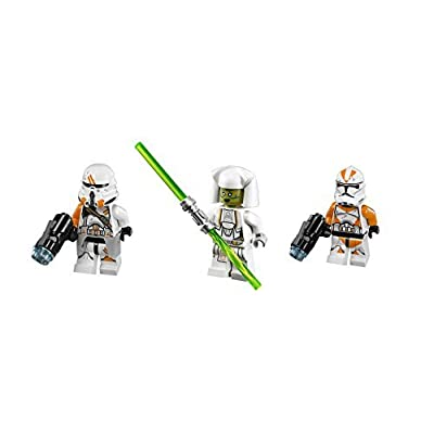 LEGO Jedi Counselor, Utapau Trooper, and Utapau Paratrooper Minifigures: Toys & Games