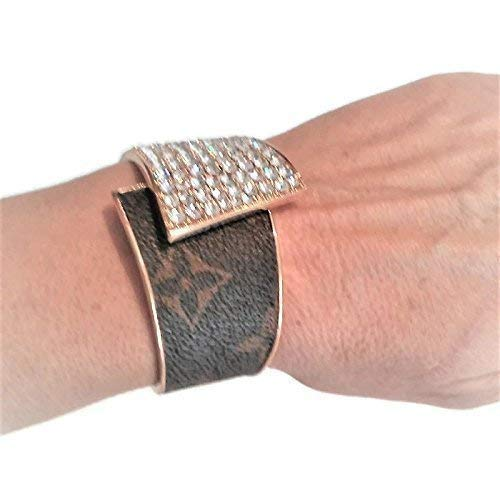 Amazoncom Holiday Gift Crystal Bracelet Fashioned W Louis Vuitton