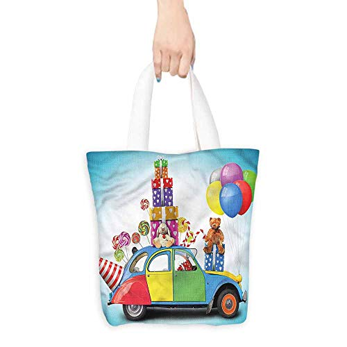 (canvas laptop bag Car Hat Toys Lollipops.14