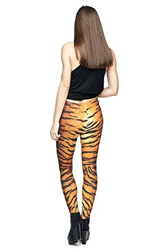 Leggings Print Tiger Alive One Size donna da IZ85CwqC1