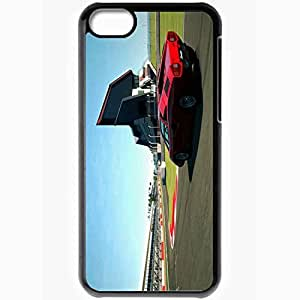 Personalized iPhone 5C Cell phone Case/Cover Skin Gran Turismo 6 Black