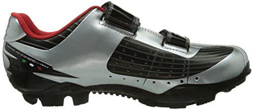 7720 Unisex Phantom Dd Argento Ciclismo X silber Sportive schwarz Scarpe silber weiß Diadora 42 Adulto BqZHw4x