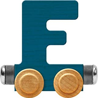 product image for Maple Landmark NameTrain Bright Letter Car F - Made in USA (Blue)