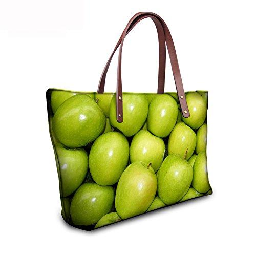 FancyPrint Handbags Shoulder C8wc0504al Casual Bags Large Women w6fwqvC