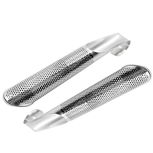 Unilive Tea Leaf Infuser Stick Tube Strainer Filter for Loose Leaf or Herbs,Creative Hanging Stainless Steel Extra Fine Mesh Filter-2pack