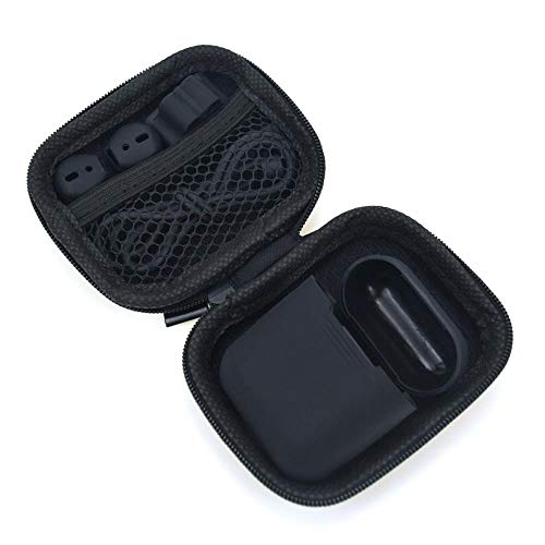 Price comparison product image Orcbee _for Apple AirPods Accessories Silicone Cover Case+Anti Lost Strap+Ear Cover Hook (Black)